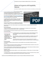PUBLICO - 08.10.2008 - Brigadistas argentinos en la guerra civil española, olvidados de la historia