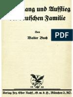 Buch, Walter - Niedergang und Aufstieg der deutschen Familie (1932)