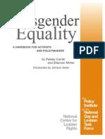 TranTransgender equality