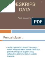 Deskripsi Data
