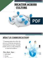 Comm Across Culture 1