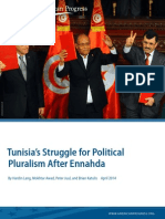 Tunisia's Struggle for Political Pluralism After Ennahda