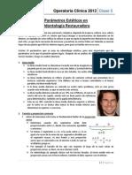 5. Parámetros Estéticos en Odontología Restauradora
