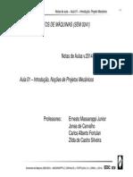 Aula 1 - Proj Mec Intrd v2014