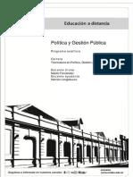 TPGC - Política y gestión Pública - Programa