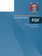 Anaesthetic Services