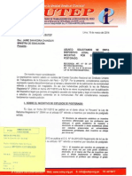 Oficio N° 077-2014 CEN SUTEP
