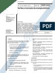 NBR 5463 (Abr 1992) - Tarifas e mercado de energia elétrica
