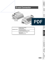 6 d Sub Connectors for Sv Series Valves