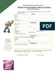 Bulletin Inscription séminaire en ligne stratégie de présence par les médias sociaux