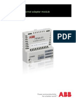ABB FENA 01 11 Ethernet Manual