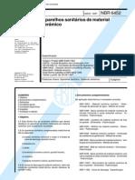 NBR 6452 (Maio 1997) - Aparelhos sanitários de material cerâmico