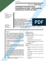 NBR 6826 (Jun 1996) - Sinalização horizontal viária - Microesferas de vidro - Verificação da resistência ao sulfeto de sódio