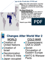 ChangesinWorldAfterWW2 and Decolonization