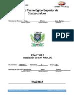 PRACTICA 1 - Instalación de SWI PROLOG