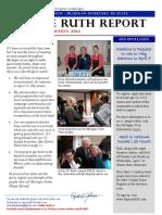 April 2014 Ruth Report