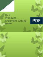 Eng100BC Pronouns Arguments