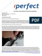 Shaft Replacement Instructions