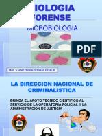 EXPOSICION MICROBIOLOGIA FORENSE
