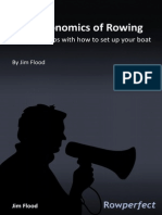 The Ergonomics of Rowing by Jim Flood