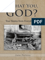 Is That You God - True Stories from Everyday Life • Sample