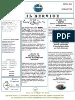 Luuf Newsletter April 2014.Pub