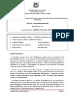 Programa Fonética y Fonología I - 2013