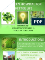 Green Hospital for a Better Life