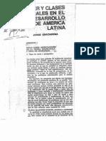 Graciarena, Jorge. Poder Y Clases Sociales