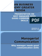 why manager need good communication skills