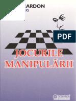 Jocurile manipularii-A.Cardan