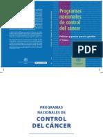 OPS Programas Nacionales Cancer 2004 Esp (1)