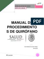 Manual de Quirofano