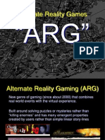 Class 1 - ARG Presentation