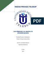 Religiones en La Sociedad Peruana
