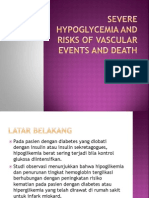 Jurnal hipoglikemia berat dgn resiko kematian dan gangguan vaskular