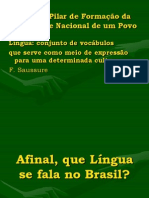 Língua e identidade