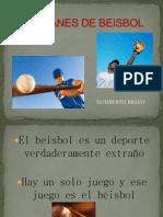 Refranes de Beisbol