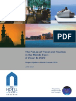 Global Futures and Foresight - Hotel Outlook 2020 - Update on the Future of Travel and Tourism in the Middle East V1!03!06 07