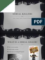 serial killers presentation