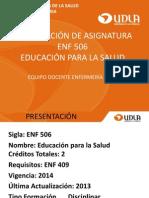 0 Presentacion ENF 506