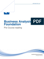 BCS Business Analysis Pre-Course Reading.pdf