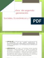 Derechos Sociales, Economicos y Culturales.