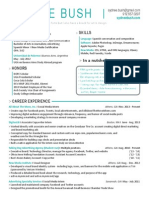 sydnee bush resume