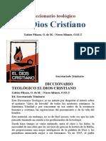 Secretariado Trinitario - Diccionario Teologico El Dios Cristiano