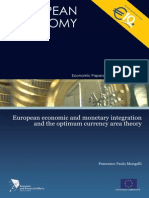 European Integration and Optimum Currency Area