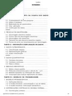 SUMÁRIO-estatística aplicada as Ciências Sociais