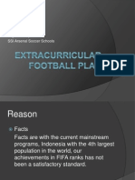 Extracurricular Football Plan
