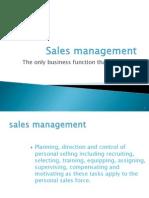 Sale Organisation 3