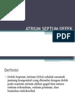 Atrium Septum Defek